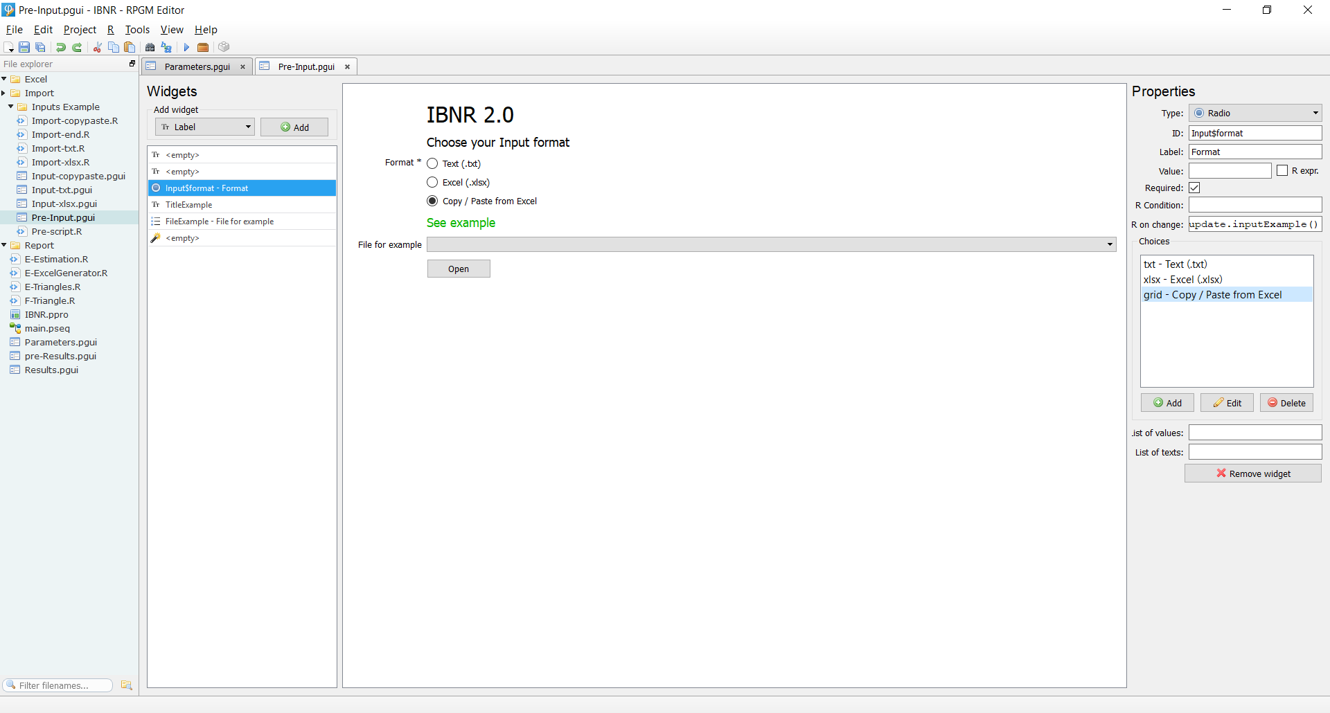 RPGM screenshot